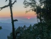 Beautiful sunset Nag tibba trek