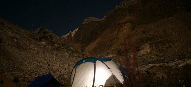 Khatling glacier Auden's col trek camp credit sumanta ray